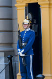 Szwedzki żeński żołnierz Zdjęcia Royalty Free