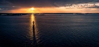 Szwedzki archipelag Obrazy Stock