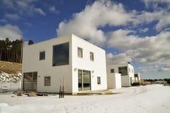 Szwedzki budynek mieszkalny fotografia royalty free