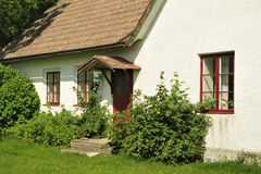 Szwedzki budynki mieszkalne obraz stock