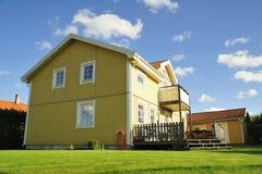 Szwedzki budynki mieszkalne zdjęcia stock