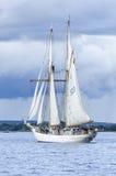 Szwedzki marynarka wojenna skuner HMS Gladan Fotografia Stock