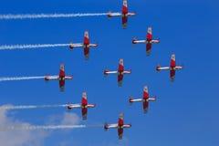 Szwedzki siły powietrzne 17 skrzydło Zdjęcia Royalty Free