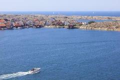 Szwedzki zachodnie wybrzeże zdjęcia royalty free