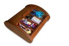 Szwu toolbox Fotografia Stock