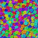 Szyć guziki z bezszwowym wytwarzającym marmurowym tekstury tłem Obraz Stock