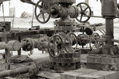 Szyb naftowy. Zdjęcie Stock