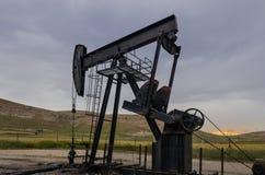Szyb Naftowy, Turcja Fotografia Stock