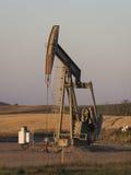 Szyb naftowy w Północnym Dakota Zdjęcia Royalty Free
