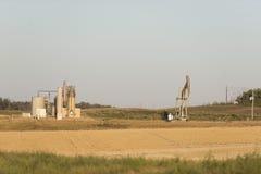 Szyb naftowy w Północnym Dakota Obrazy Stock