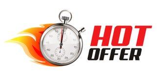 Szybki - biznesowy pojęcie - czas biega ilustracja wektor