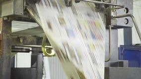 Szybki chodzenie automatyczna linia z papierem na maszynie w drukowym domu zbiory