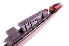 szybki kolejowy transport Zdjęcia Stock