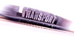 szybki kolejowy transport obrazy stock