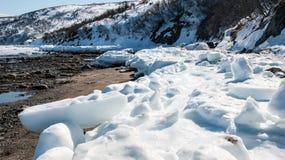 Szybki lód Zdjęcia Royalty Free
