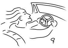 szybki mężczyzna ilustracja wektor