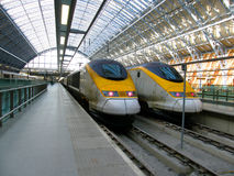 szybki pociąg obraz stock