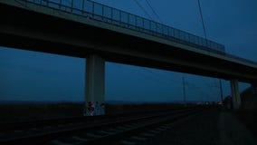 Szybki pociąg zdjęcie wideo
