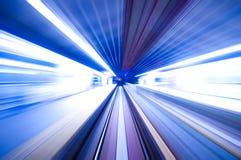 szybki pociąg zdjęcia stock