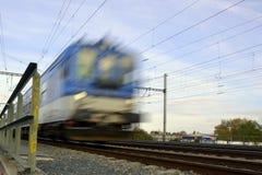 Szybki pociąg Fotografia Stock