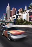 szybki poruszający Vegas Obrazy Royalty Free