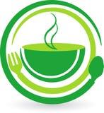 Szybki przerwa logo Fotografia Stock