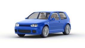 Szybki samochodowy obmycie royalty ilustracja
