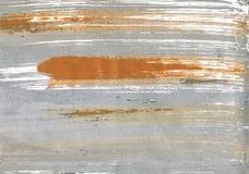 Szybki Srebny abstrakcjonistyczny akwareli tło Fotografia Royalty Free