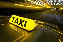 szybki taxi Fotografia Royalty Free