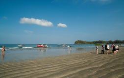 Szybkie łodzie, Koh Lanta wyspa Krabi, Tajlandia - obraz royalty free