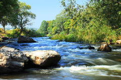 szybkie rzeki Obraz Stock