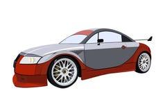 Szybkiego sporta bieżny samochód Zdjęcia Stock