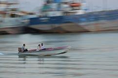 szybko łódź Obraz Royalty Free