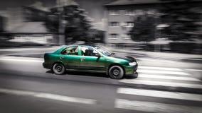 szybko jadącego samochodu Obrazy Stock