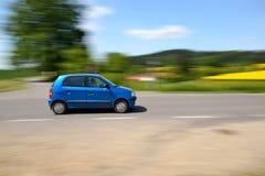 szybko jadącego samochodu Fotografia Stock