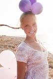 szybko się zwiększać dziewczyny promieni światło słoneczne Fotografia Royalty Free