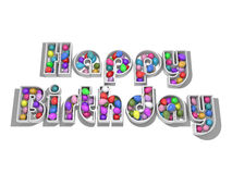 szybko się zwiększać urodziny szczęśliwego Obraz Royalty Free