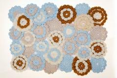 szydełkowi kwiaty Zdjęcia Royalty Free