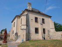 Szydlow slott, Polen Fotografering för Bildbyråer