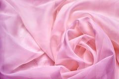 Szyfon różowa tekstylna tekstura zdjęcie royalty free