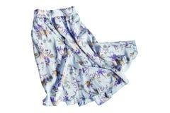 Szyfon spódnica odizolowywająca zdjęcie royalty free