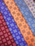 szyi jedwabiu krawaty Fotografia Stock