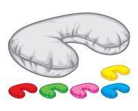 Szyi poduszki Zdjęcie Royalty Free