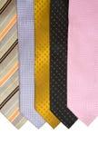 szyja barwiony krawat zdjęcia stock