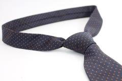Szyja krawat nad białym tłem Zdjęcie Stock