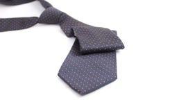 Szyja krawat nad białym tłem Zdjęcie Royalty Free