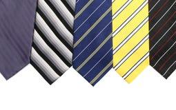 Szyja krawaty Zdjęcia Stock