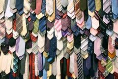 szyja męscy krawaty Obraz Stock