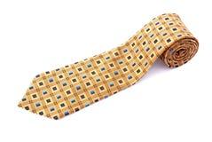 szyja staczający się krawat Fotografia Stock
