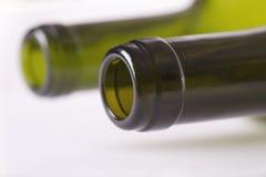 Szyja wino butelka Obrazy Stock